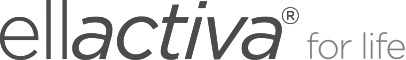 The Ellactiva logo - for life